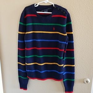 Polo Ralph Lauren Unisex Striped Sweater sz S
